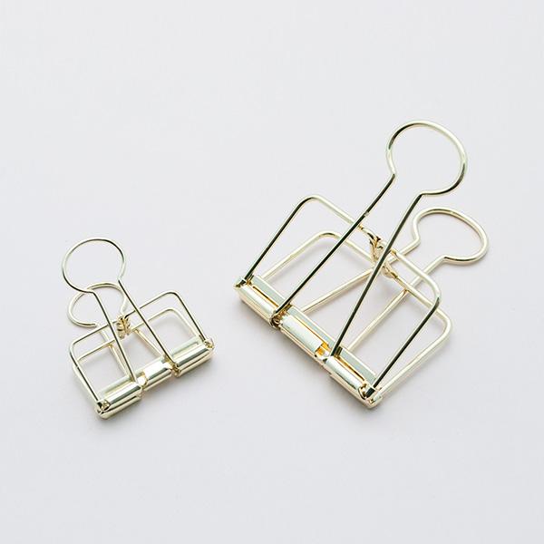 gold binder clip