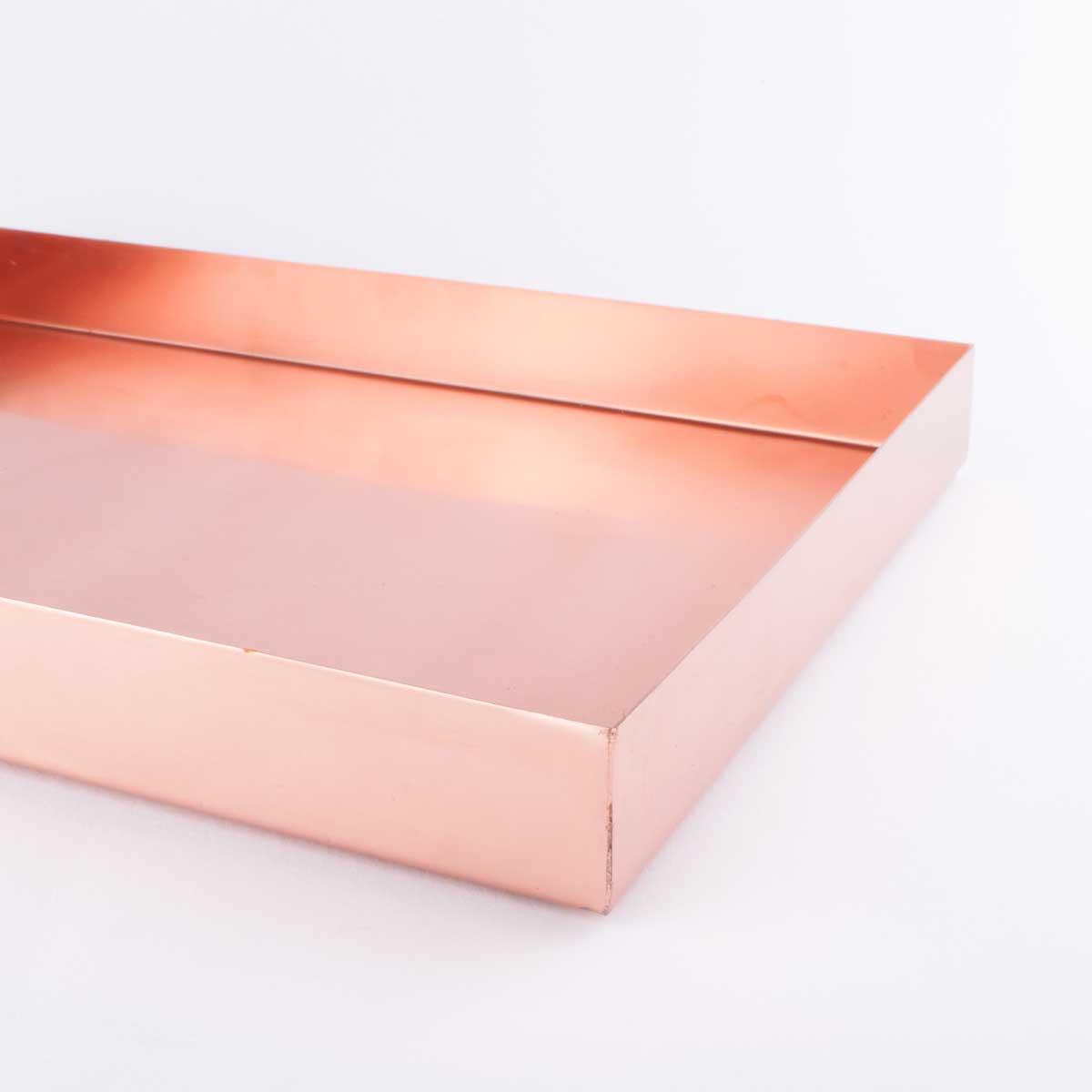 Copper Rectangular Tray