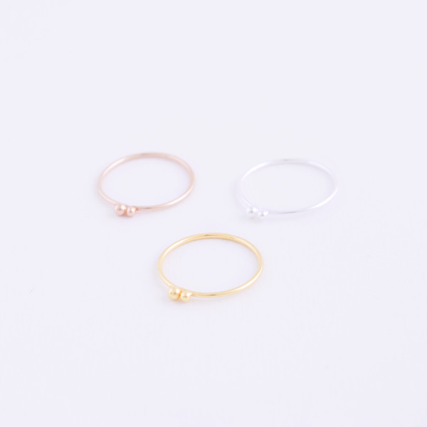 double dot rings trio 1