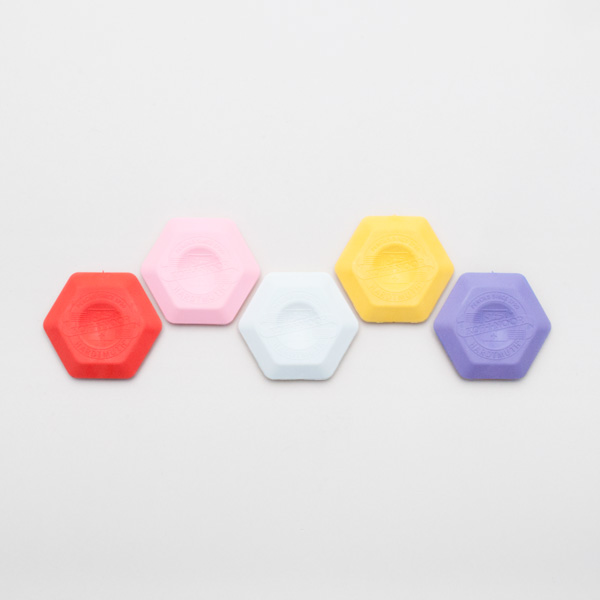 hexagon eraser