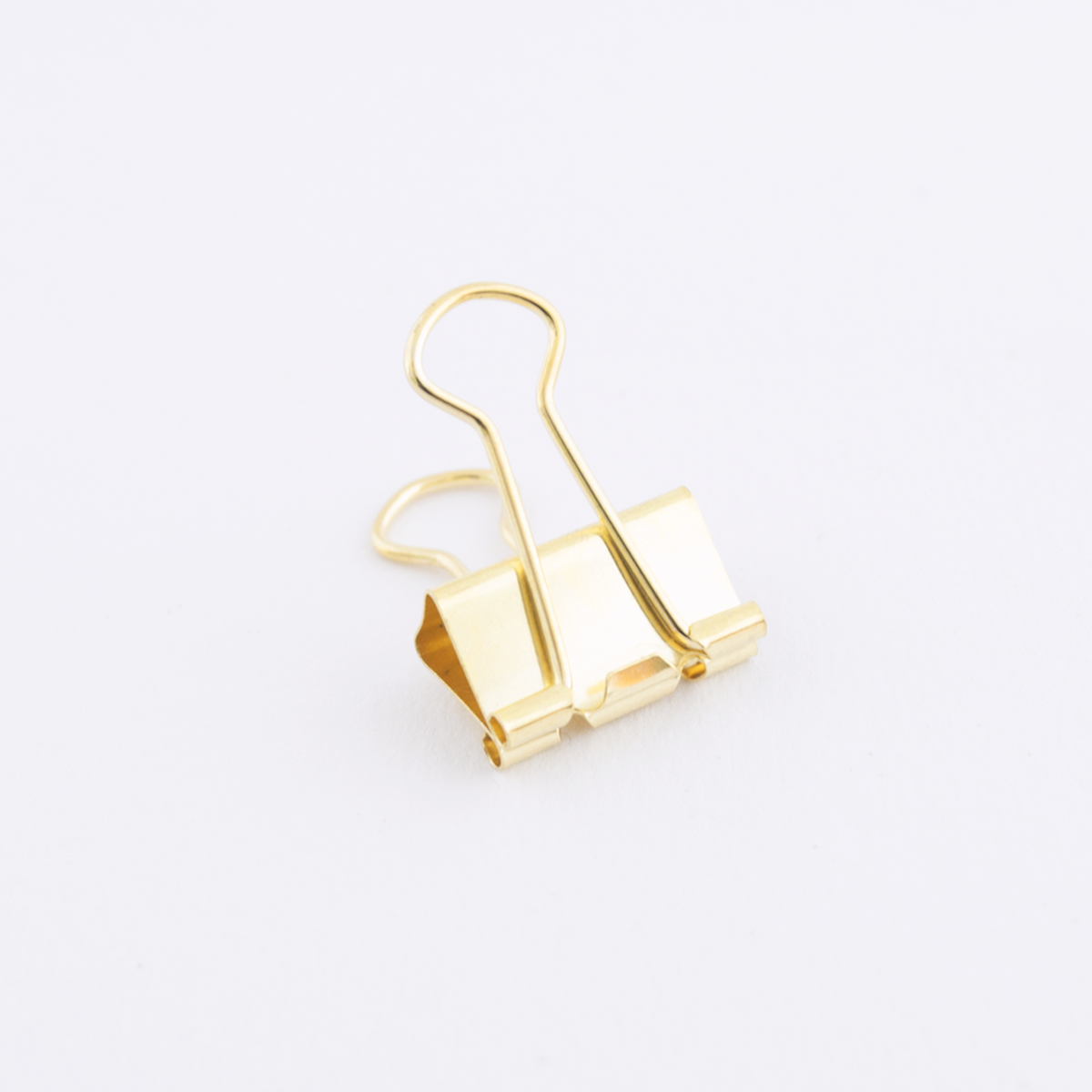 medium gold binder clip