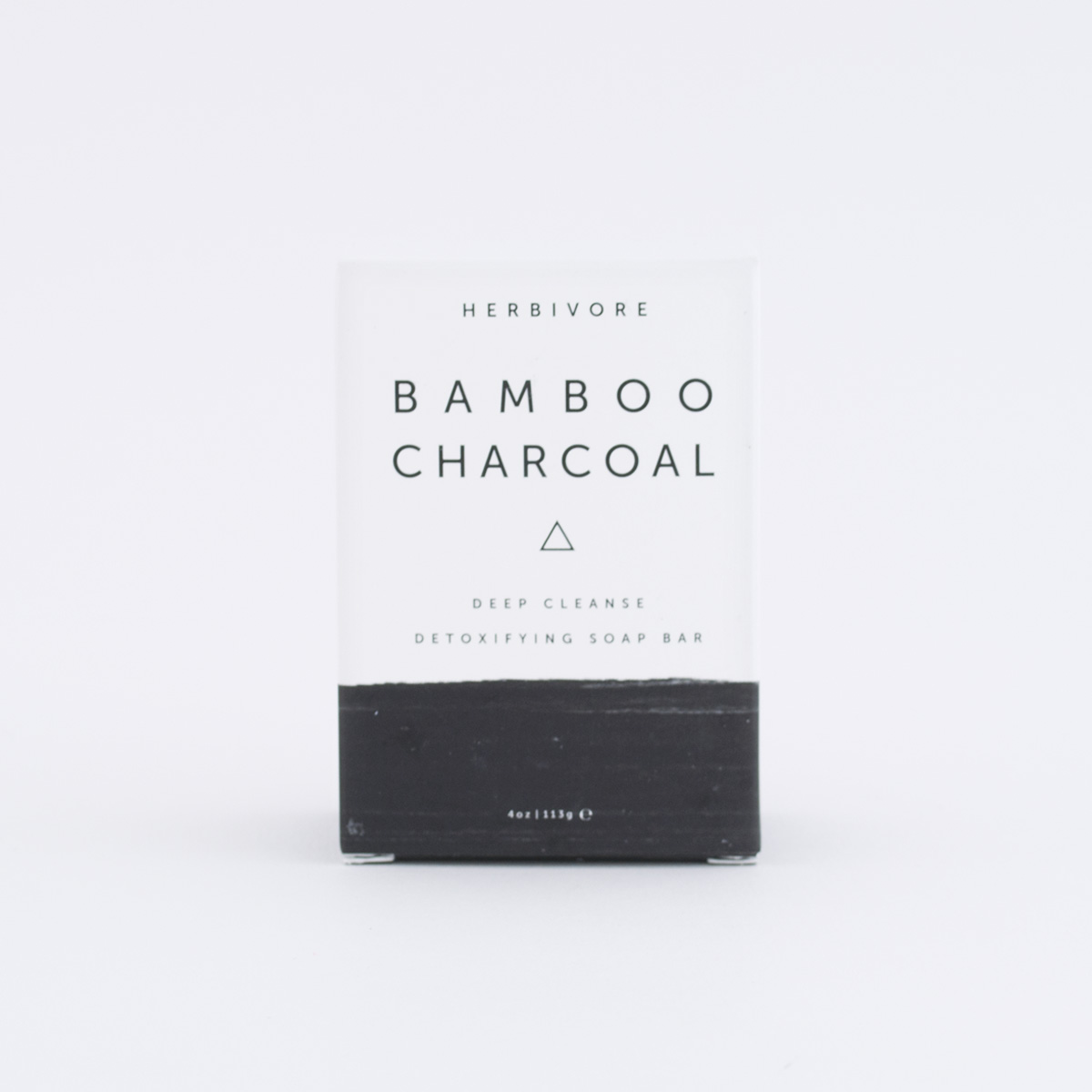 Herbivore Botanicals Bamboo Charcoal Facial Soap