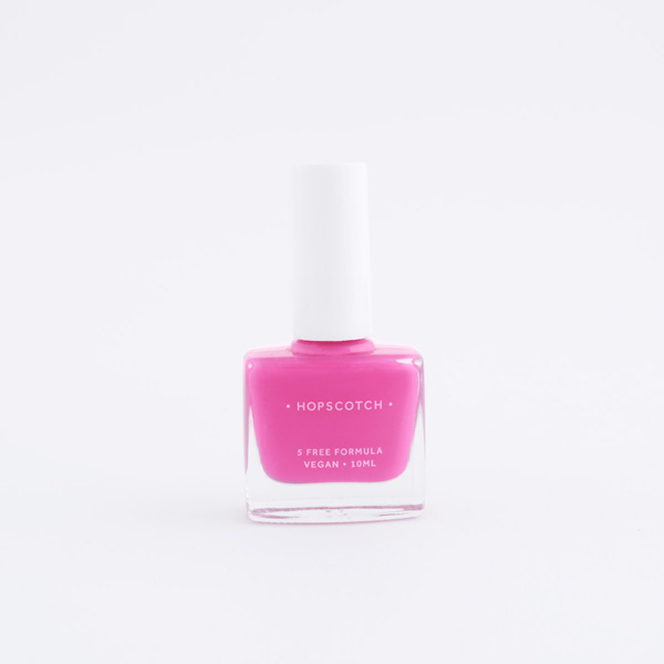 pink vegan nail varnish