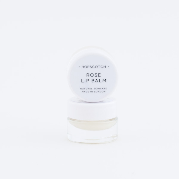hopscotch rose lip balm