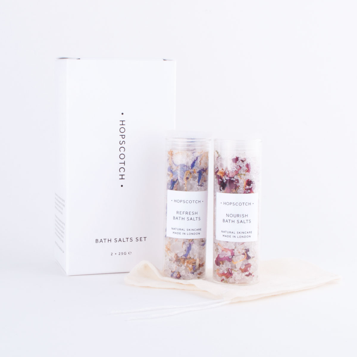 hopscotch bath salts set
