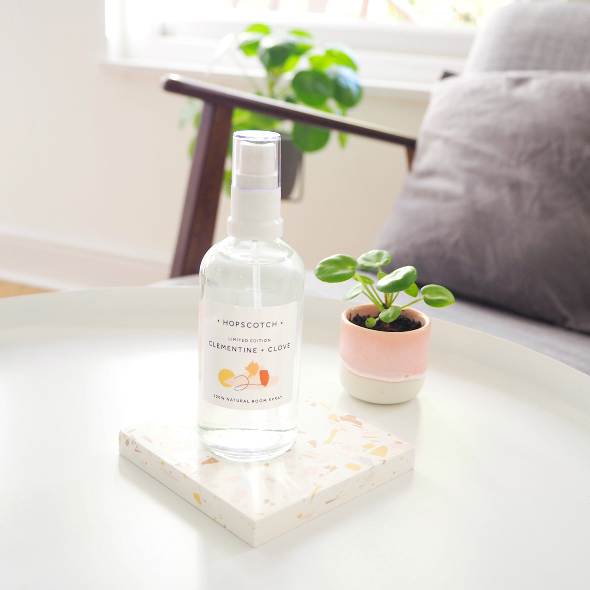 Clementine + Clove Room Spray