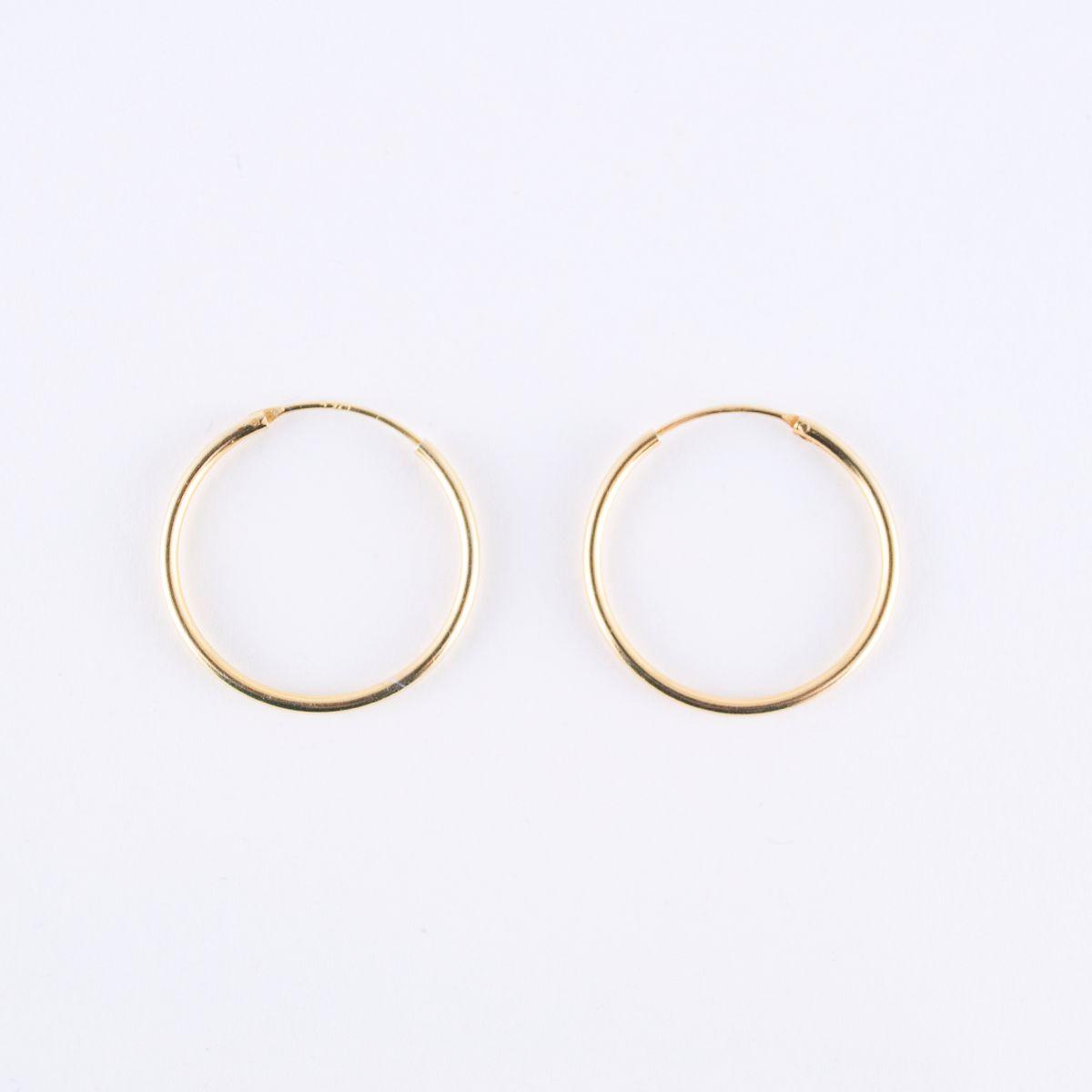 hopscotch_large hoop earrings gold