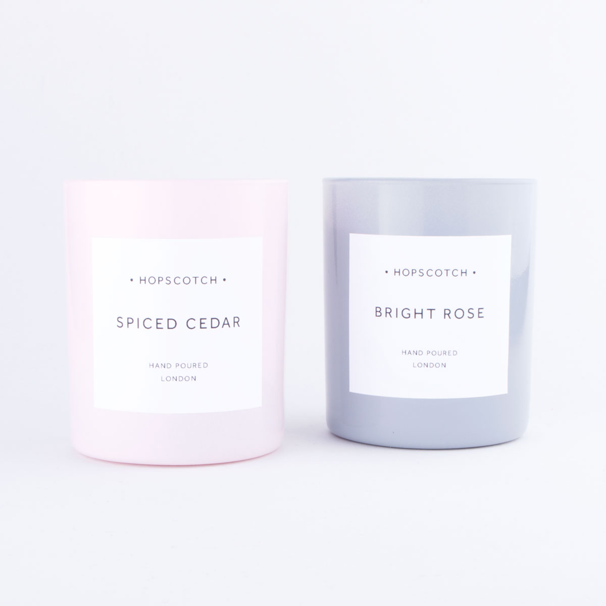 pink soy candle
