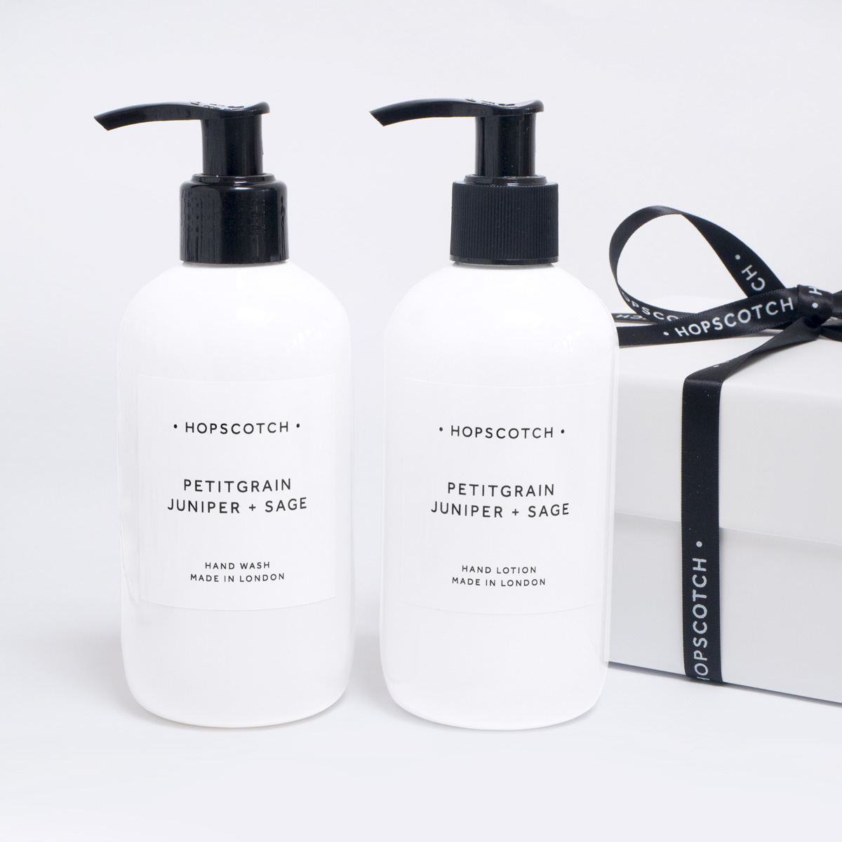 petitgrain juniper and sage hand care duo