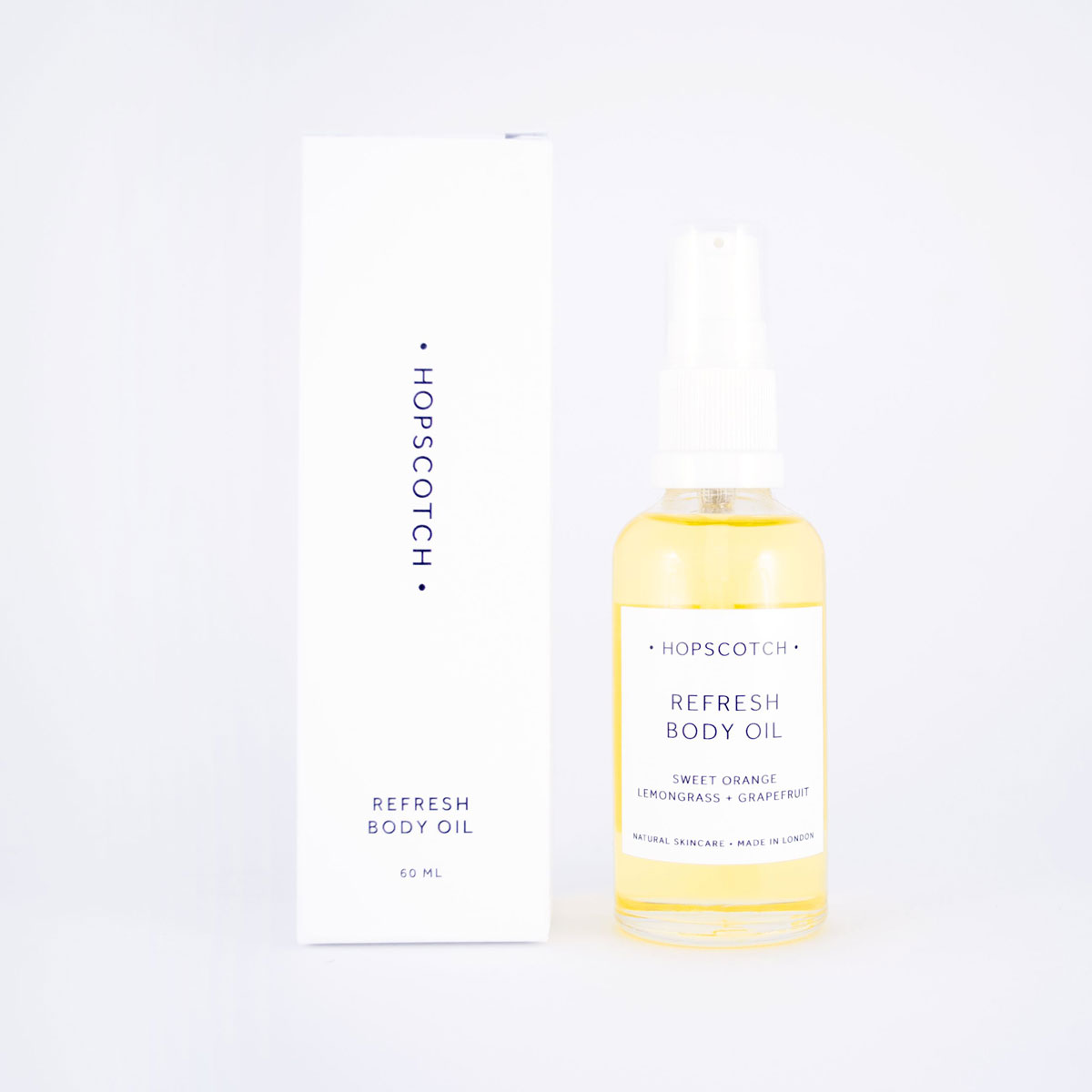 hopscotch refresh body oil