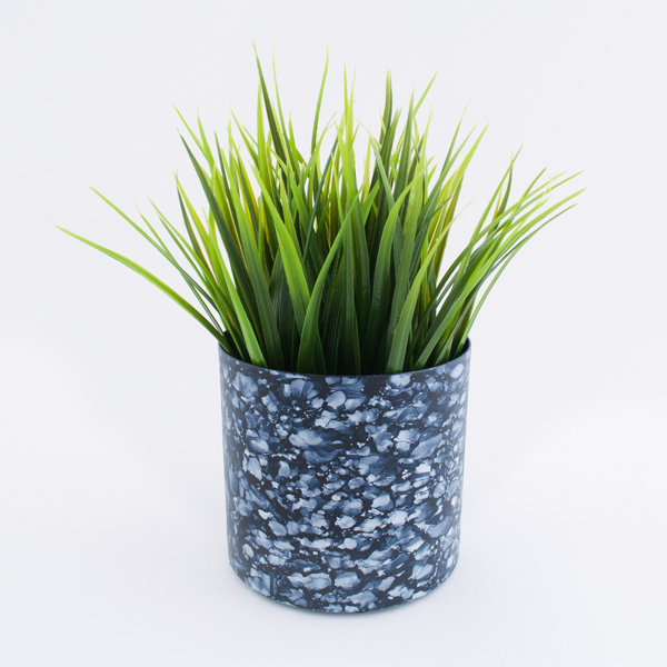 Marbled Plant Pot