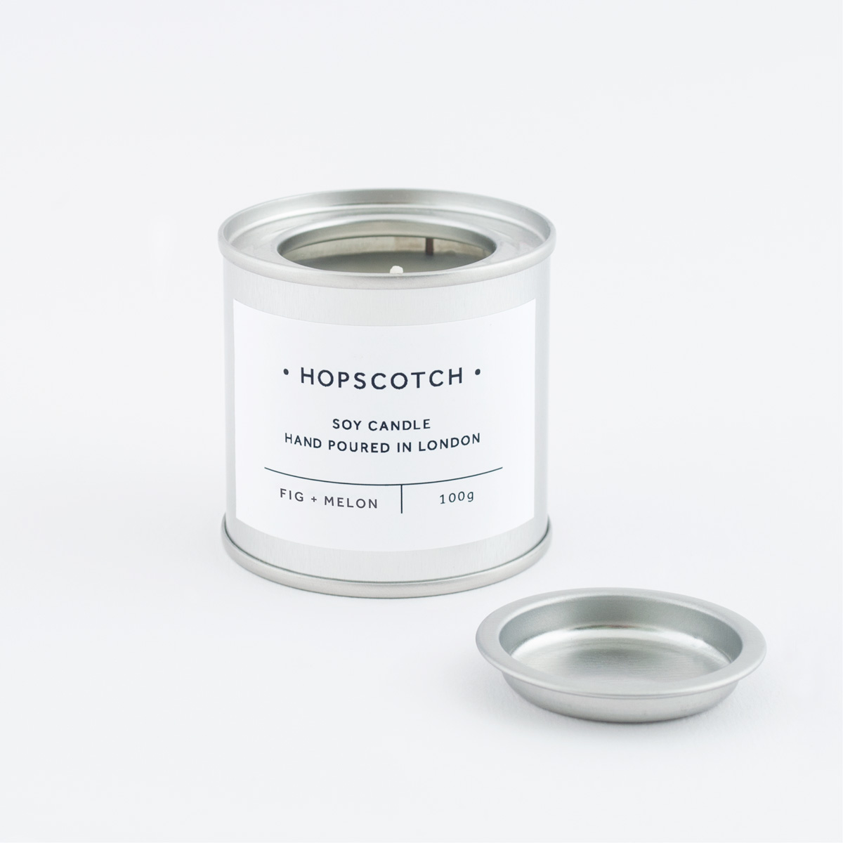 Hopscotch Fig + Melon Mini Soy Candle