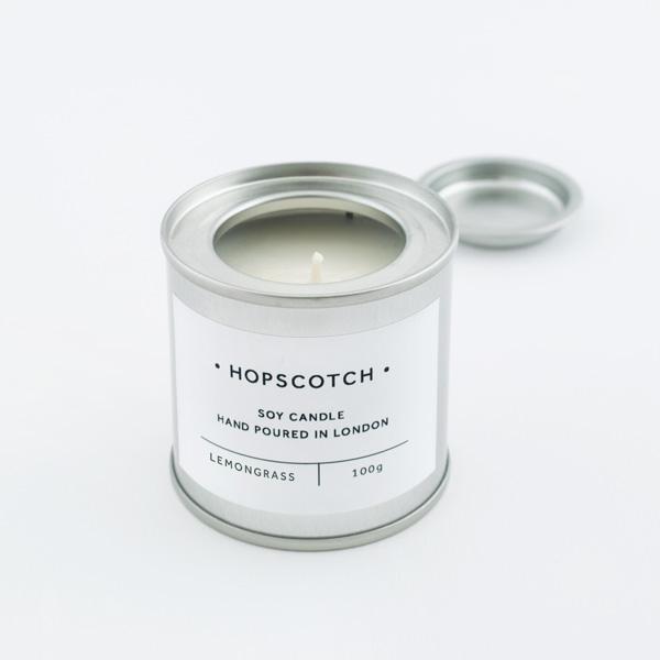 Lemongrass Mini Soy Candle