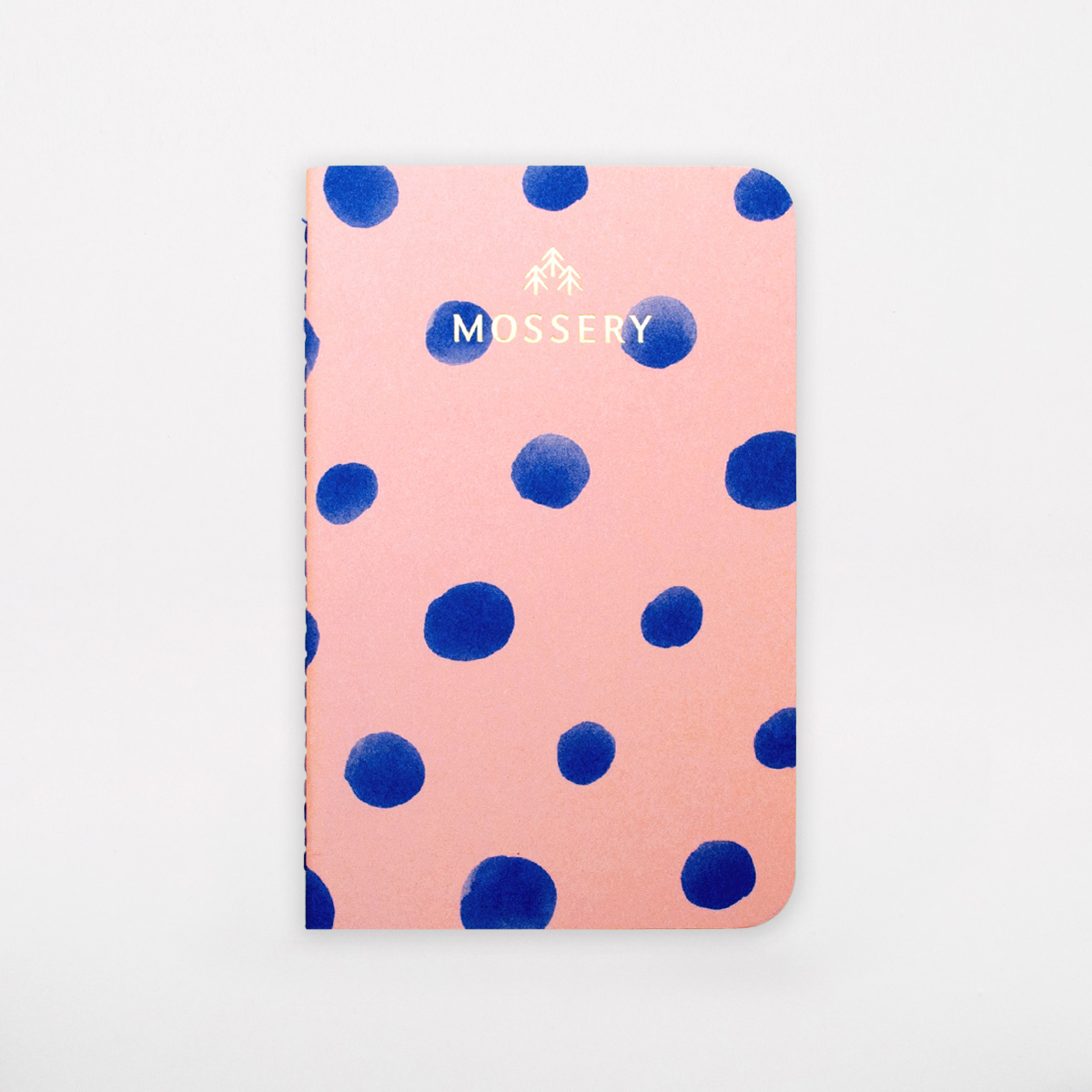 dot pattern pocket notebook