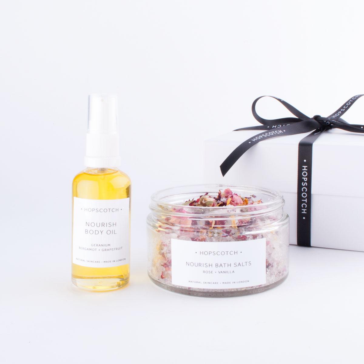 nourish skincare gift box