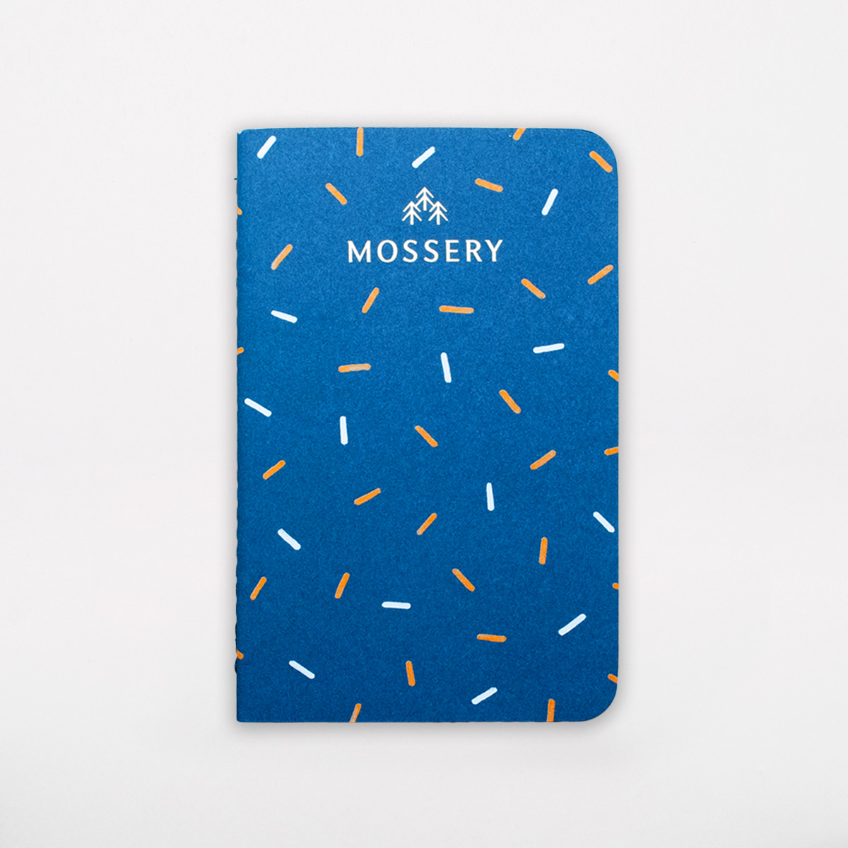 confetti pattern pocket notebook