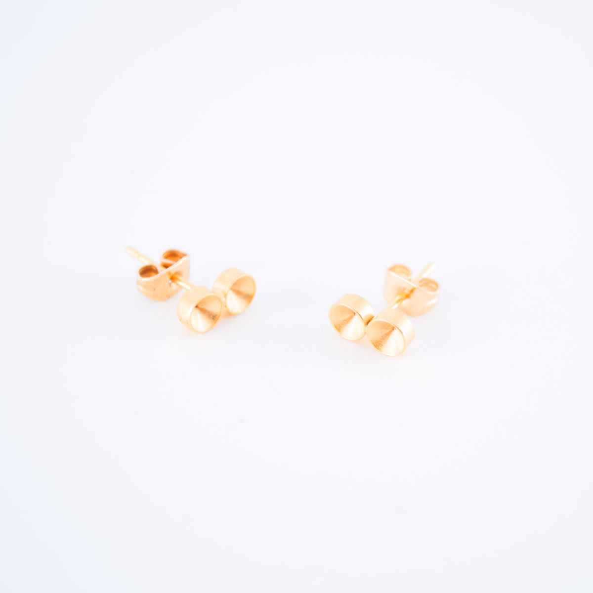 gold solis earrings