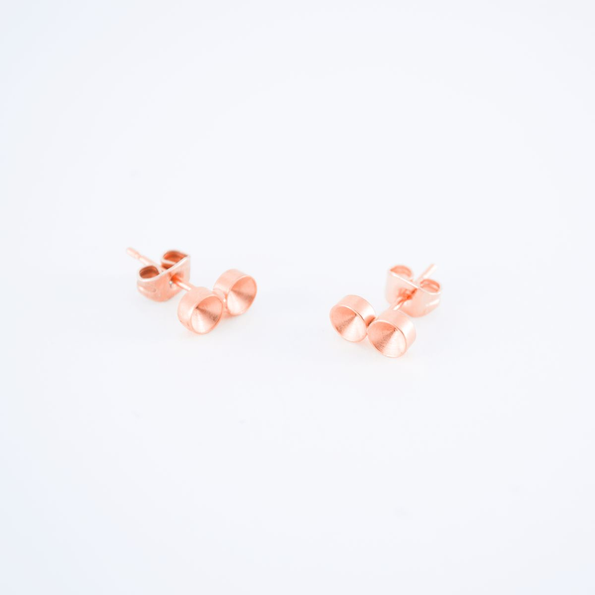 rose gold solis earrings