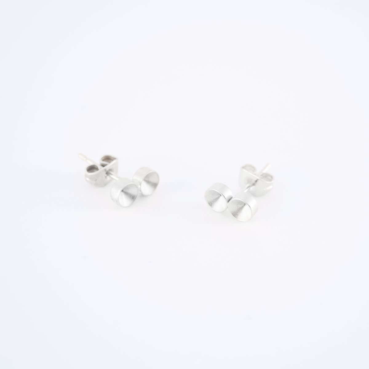 silver solis earrings