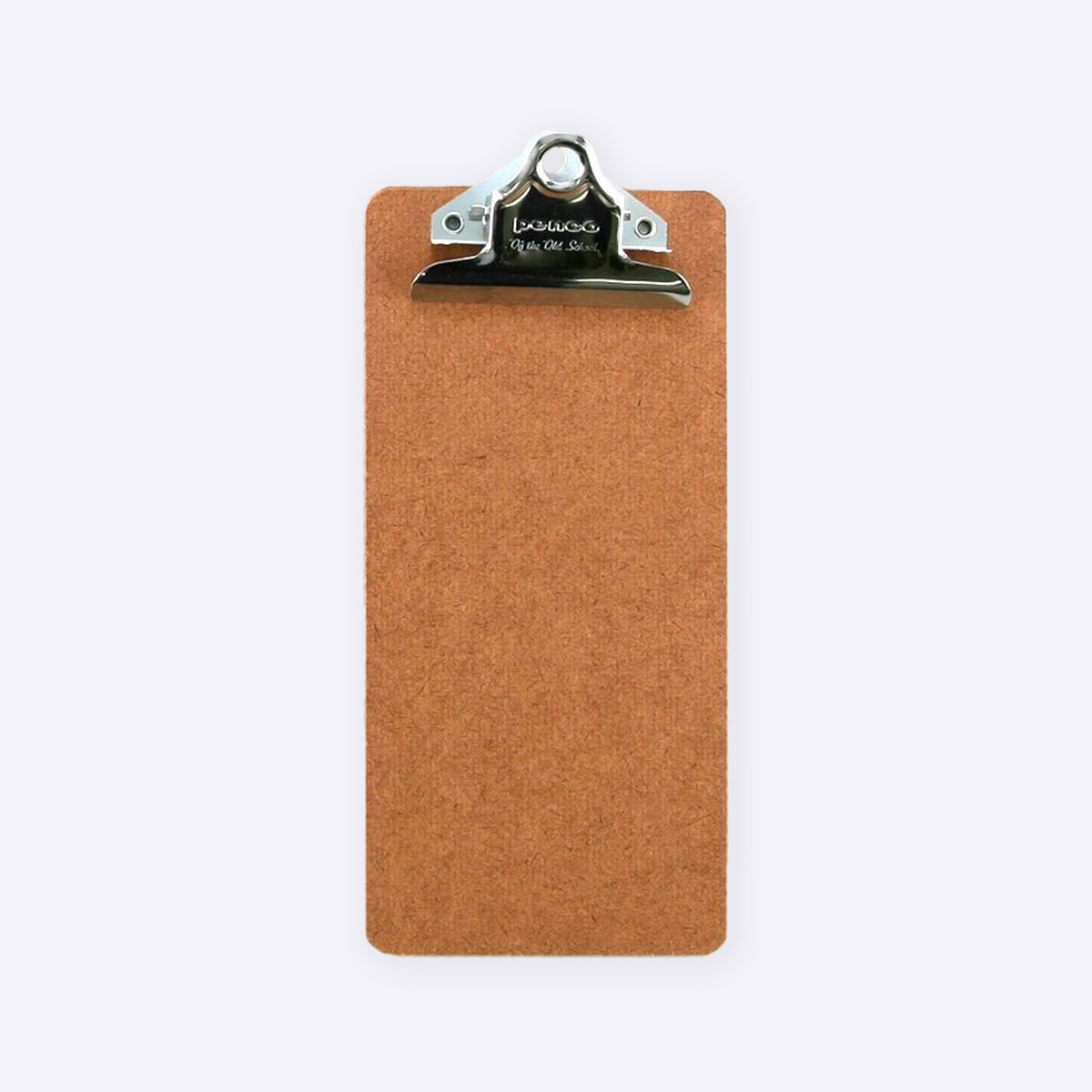 slim wooden clipboard
