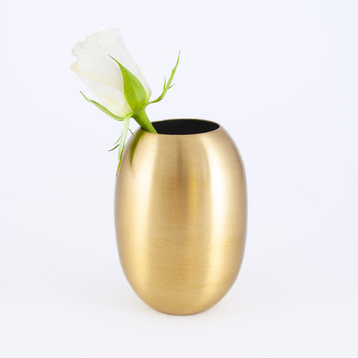 small brass vase