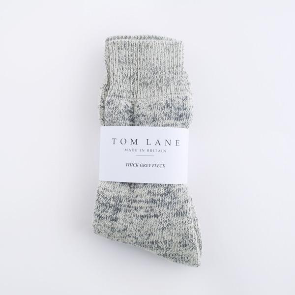 thick flecked socks