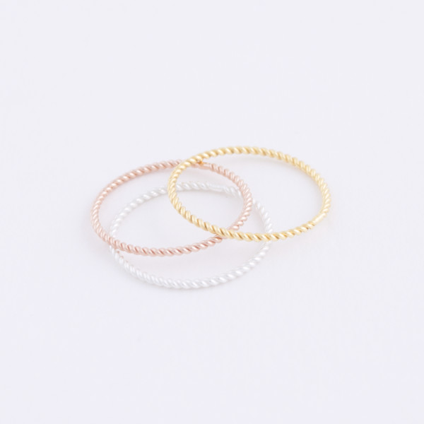 twist ring trio